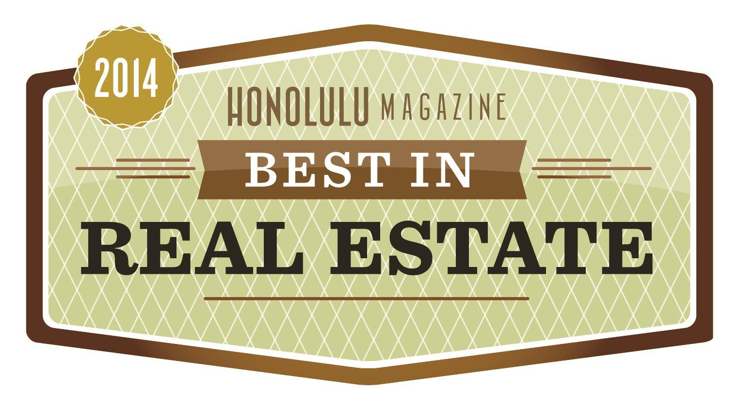 2014 Honolulu Magazine Best In Real Estate